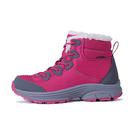 [BLUE PiNE] (女) 防水透氣保暖雪鞋 桃紅 (B61906-83)