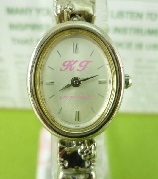 【震撼精品百貨】Hello Kitty 凱蒂貓~手錶-造型臉錶帶【共1款】