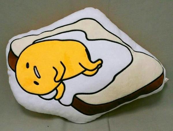 【夏特賣】《早餐店吐司》正版授權【蛋黃哥】ZAKKA雜貨 絨毛娃娃玩偶 療癒小物 抱枕娃娃