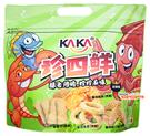 【吉嘉食品】KAKA 珍四鮮(冠軍魷) 每包120公克±5% {5778151}[#1]