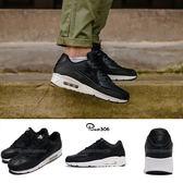 【五折特賣】Nike 休閒慢跑鞋 Air Max 90 Ultra 2.0 LTR 黑 白 氣墊 黑白 運動鞋 男鞋【PUMP306】 924447-001