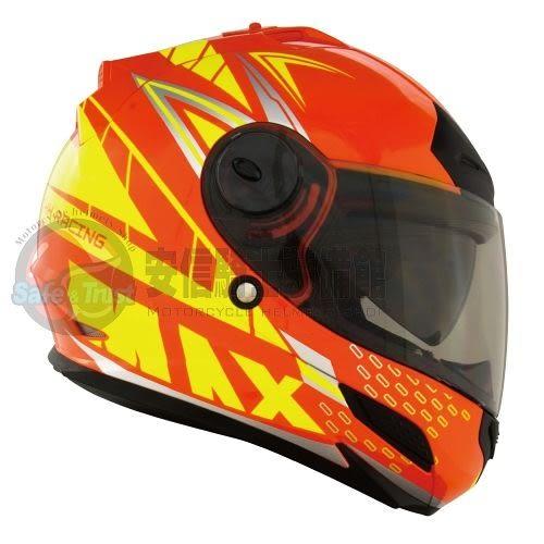 [中壢安信]THH TS-43A+ TS43A+ MAX 橘螢光黃 安全帽 全罩安全帽 買就送好禮2選1