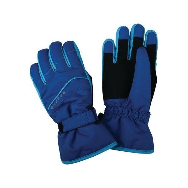 [Dare2b] (童) Flag Down II Glove 反光防水透氣保暖手套 藍 (DBG306-15)