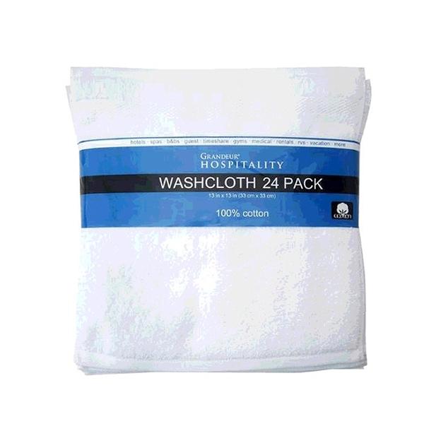 [COSCO代購] W1176956 Grandeur 商用純棉方巾 33x33公分 24入/組(2組裝)