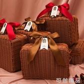 結婚伴手包裝盒高檔實用婚禮女閨蜜伴娘禮物大號純手工禮品禮盒子 中秋節全館免運