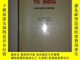 二手書博民逛書店A罕見PASSAGE TO INDIA:WITH ESSAYS IN CRITICISM 【392】韓國版Y1
