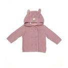 mothercare 粉紅兔耳針織外套-...