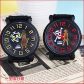《大方精緻》航海王 海賊王 魯夫 艾斯 正版  卡通 手錶 矽膠錶帶石英手錶 H01050