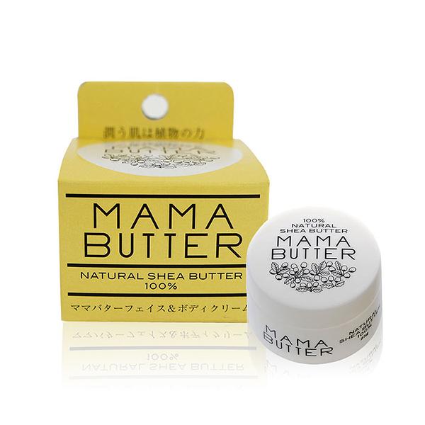 日本 MAMA BUTTER 100%乳木果油滋潤霜 25g ◆86小舖 ◆