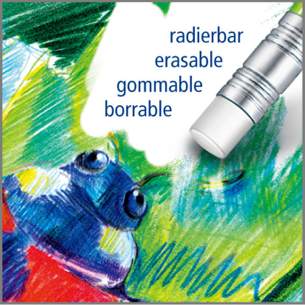 施德樓 MS14450 NC12 快樂學園可擦拭色鉛筆12色組