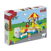 【BanBao邦寶積木】 旋轉樂園 NO.7505 (與樂高 LEGO ) @SNOOPY正版授權