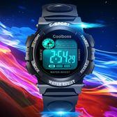 售完即止-兒童手錶男孩女孩防水夜光計時運動初中小學生手錶電子表11-17(庫存清出T)