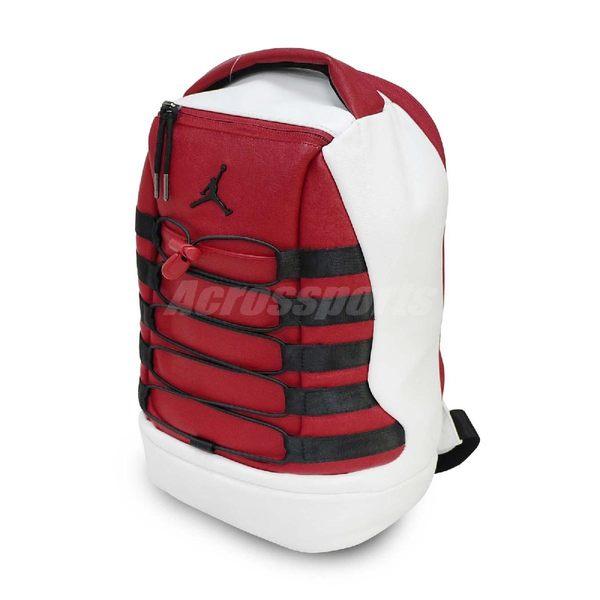 Nike 後背包 Air Jordan Retro 10 Chicago Mini 飛人 喬丹 十代 斑馬紋 包包 兒童包 紅 白 【PUMP306】 9A0071-WR2