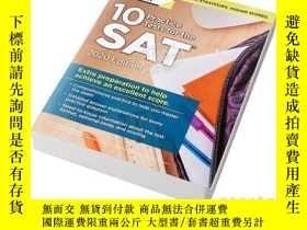 二手書博民逛書店SAT10套題2020英文原版罕見10 Practice Tes