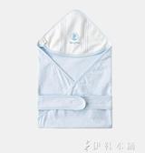 嬰兒純棉抱被新生兒用品男女寶寶外出繈褓包被抱毯 伊鞋本鋪