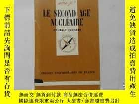 二手書博民逛書店法文原版罕見LE SECOND AGE NUCLEAIRE 15