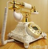 復古電話復古電話機仿古電話機歐式個性插卡美式電話座機固家用電信LX新年禮物