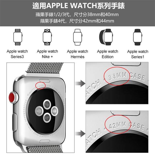 米蘭尼斯磁吸錶帶 Apple Watch S6/SE/1/2/3/4/5代 通用 金屬錶帶 磁吸 腕帶 替換帶 iWatch 錶帶 38 40 42 44mm