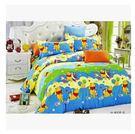 純棉小黃人床包 小熊維尼床包四件套 兒童床笠四件套 單人怪獸床包 標準雙人床【藍星居家】