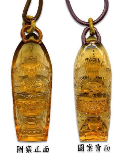 鹿港窯~開運古法水晶琉璃項鍊~南無 附精美包裝◆免運費送到家