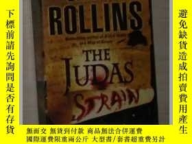 二手書博民逛書店英文原版罕見The Judas Strain by James