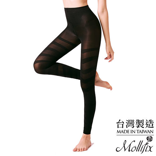 Mollifix瑪莉菲絲 280丹扭轉奇蹟 迴旋按摩9分褲 (黑)