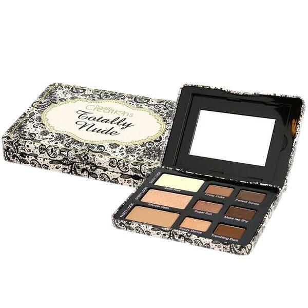 美國 Beauty Creations Totally Nude 9色裸色暖棕眼影盤11.4g『Marc Jacobs旗艦店』D299115