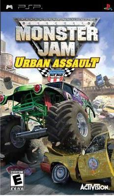 PSP Monster Jam: Urban Assault 怪獸卡車:城市突擊(美版代購)