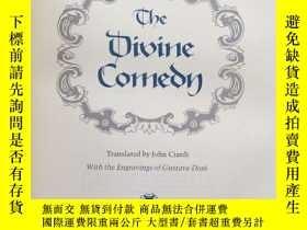 二手書博民逛書店【包罕見】The Divine Comedy by Dante