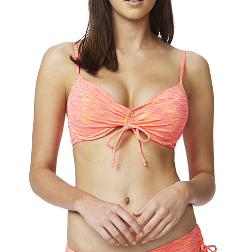 Piha 知名進口泳裝品牌 ADJUSTABLE FRONT U/W 比基尼 TOP - 女(橘)