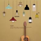 時尚壁貼 - 歐式手繪吊燈
