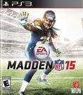 PS3 Madden NFL 15 勁爆美式足球 15(美版代購)
