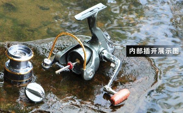 [協貿國際]  全金屬頭漁輪海竿輪
