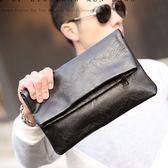 【5折超值價】經典潮流時尚摺疊造型休閒商務手拿包
