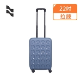 【LOJEL】22吋 羅傑VITA防盜拉鍊 行李箱/拉鍊行李箱(PP10-鋼藍色)【威奇包仔通】