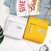 側背包手機包女新品新款夏天正韓裝手機的小包包帆布包單肩斜挎零錢包袋 6色可選