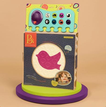 美國【B.Toys】排隊動物音樂地墊-西洋棋[衛立兒生活館]