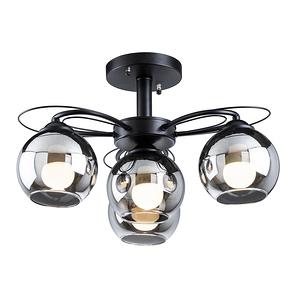 【大巨光】現代風3+1燈半吸頂燈-中(BM-20682)W480mmXH320mm