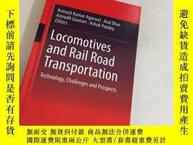 二手書博民逛書店Locomotives罕見and Rail Road Trans