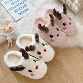 居家棉拖鞋女冬學生風可愛室內居家用卡通毛絨月子棉鞋