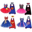 萬聖節女童卡通英雄造型服裝...