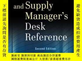 二手書博民逛書店The罕見Procurement and Supply Manager s Desk Reference, 2nd