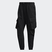 Adidas TECH 男裝 長褲 休閒 彈力腰身 搭扣 工裝 多口袋 縮口 黑【運動世界】GM4418