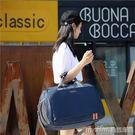 旅行包女手提單肩行李袋韓版潮大容量短途旅游健身包男輕便行李包 美芭