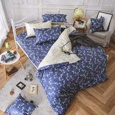 床包兩用被組 / 雙人加大【浮草之詩】含兩件枕套  AP-60支精梳棉  戀家小舖台灣製AAS315