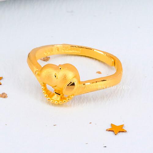 史努比SNOOPY-期待-黃金戒指