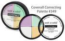 Wet n wild Coverall Correcting Palette 4色修飾遮瑕膏6.5g原裝進口【彤彤小舖】