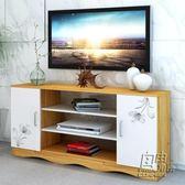 電視櫃現代簡約歐式客廳臥室電視機櫃迷你小戶型地櫃 儲物櫃     自由角落