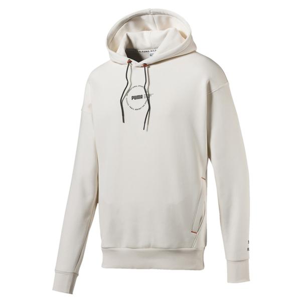 Puma XTG Trail 米白色 男女款 長袖 帽T 棉質 連帽上衣 運動 休閒 保暖 刷毛 長袖T恤 59672564