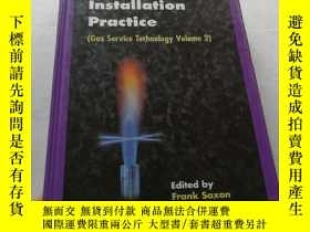 二手書博民逛書店英文原版書罕見Domestic Gas Installation